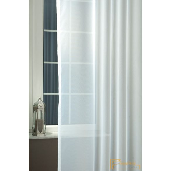 (2 szín)  Voile FR 01 Fehér 300 cm+ózs