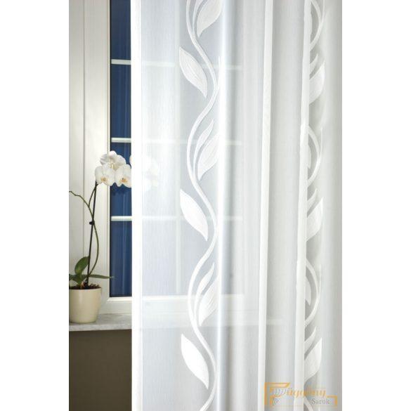 (2 méret) Fehér nyírt voile KLEMATISZ 220 cm+ózs