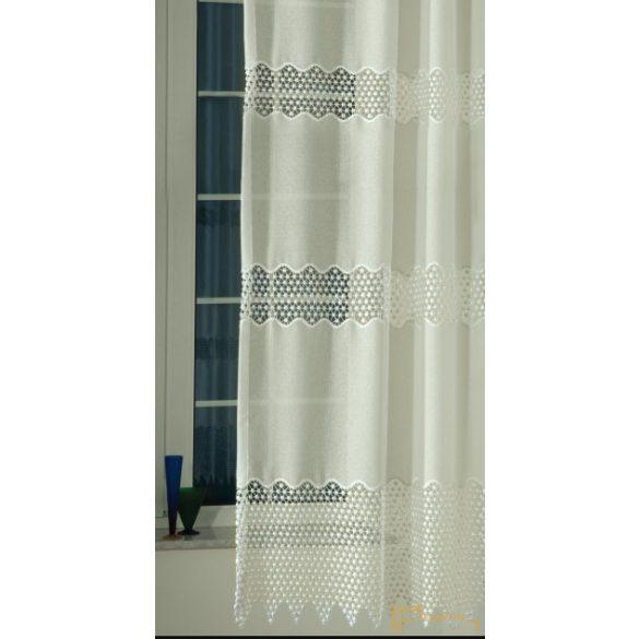 (2 szín-2 méret) Ecru applikált Tetra sable GYÖNGYI 200cm