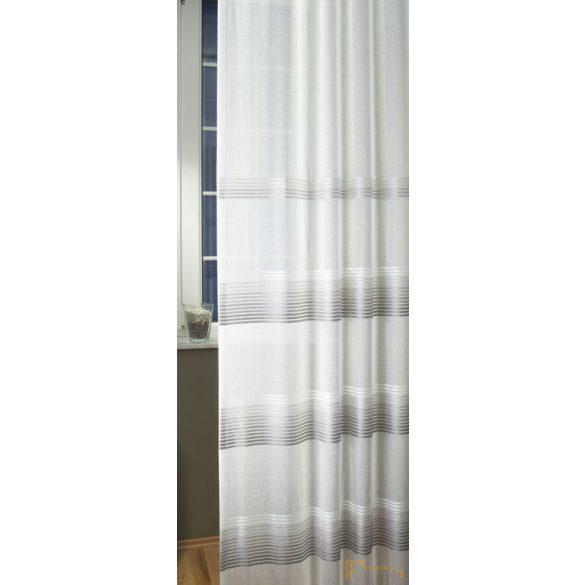 (3 szín) Ezüst Csíkos sable AMELIE 300 cm +ózs