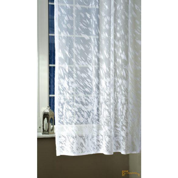 (2 méret) Függöny 22488/180 cm 01 fehér