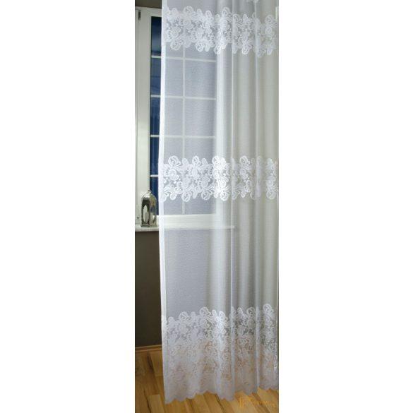 (2 méret) Ella jaquard függöny fehér 9040/180 cm