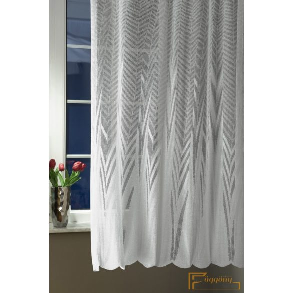(2 szín) Ezüst jaquard függöny 7883/280 cm