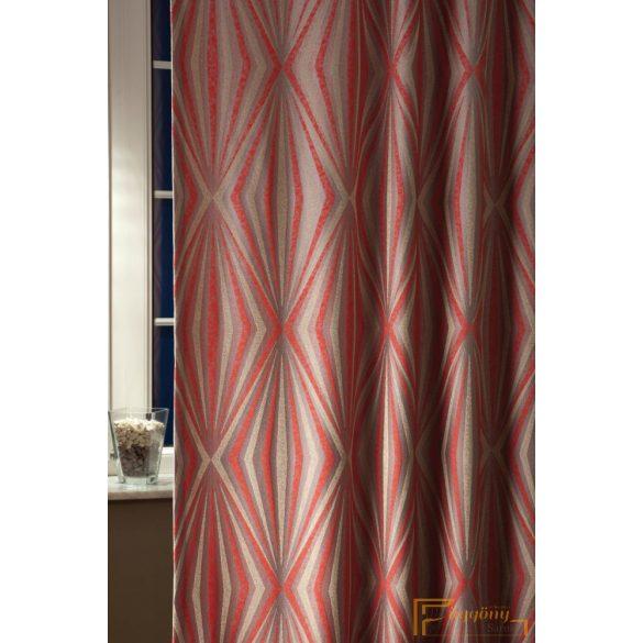 (4 szín) Piros Sebastian függöny 280cm