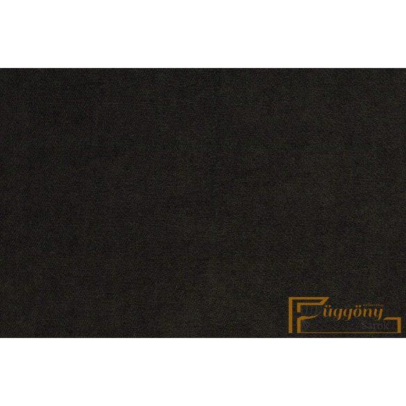 (28 szín) Deko bársony AGRA 45 fekete FR 140 cm