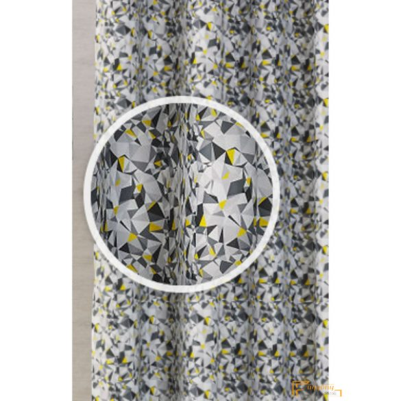 (3 szín) DIM OUT Nyomott MOZAIK 17 sárga 280 cm