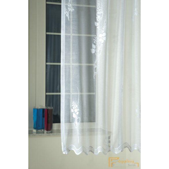 (2 méret)Ella Jacquard függöny fehér 1299/260cm