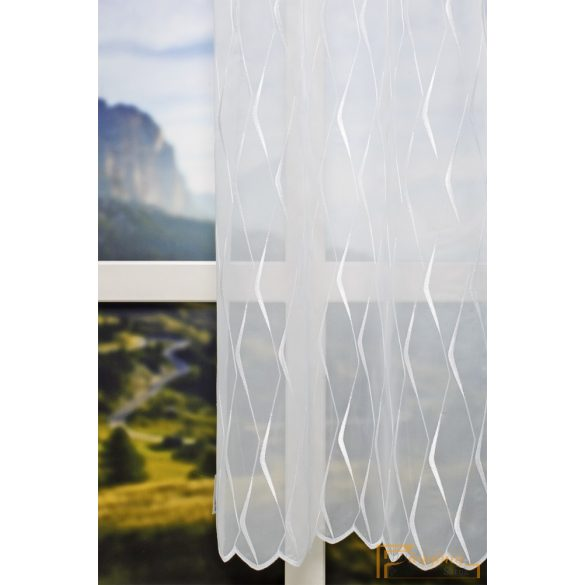 Modern mintás voile függöny R- 7088/290