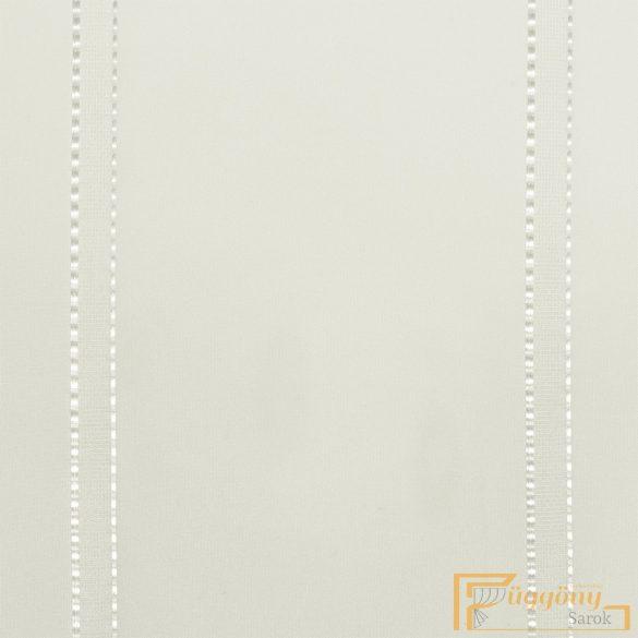 (2 szín 2 méret) Ekru csíkos voile R- 6544/220 ózs