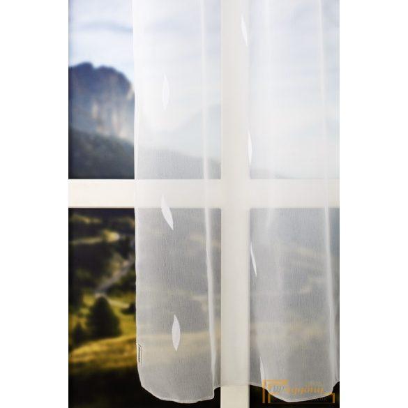 (3szín-2méret) Modern fehér mintás sherly R- 6981/300-ÓZS