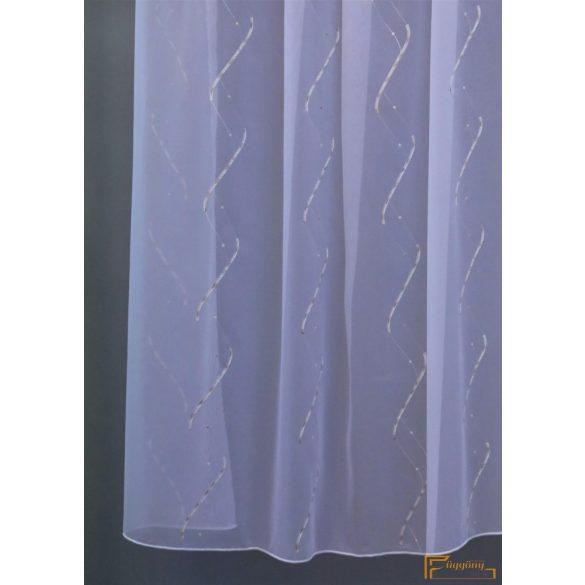 (2 méret 2 szín) Selyemszállal kevert Pisa 12 Fehér Ecru  210 cm+ózs