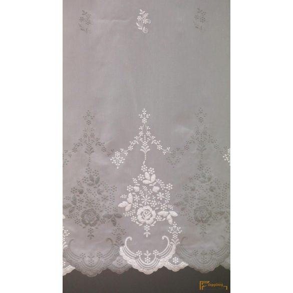 (2 méret 2 szín) Hímzett minta Ravenna11 Ecru Szürke 290 cm+ózs