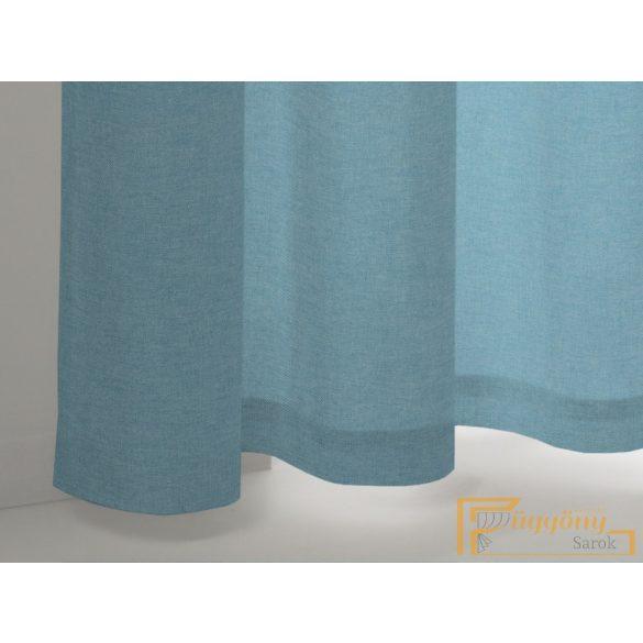 (8 szín) Jégkék színű Alicante üni dekor R-függöny 280cm