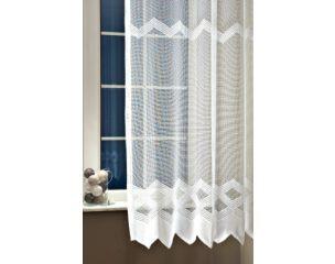 PRÍMA voile 01 fehér 220 cm + ózs fényáteresztő függöny