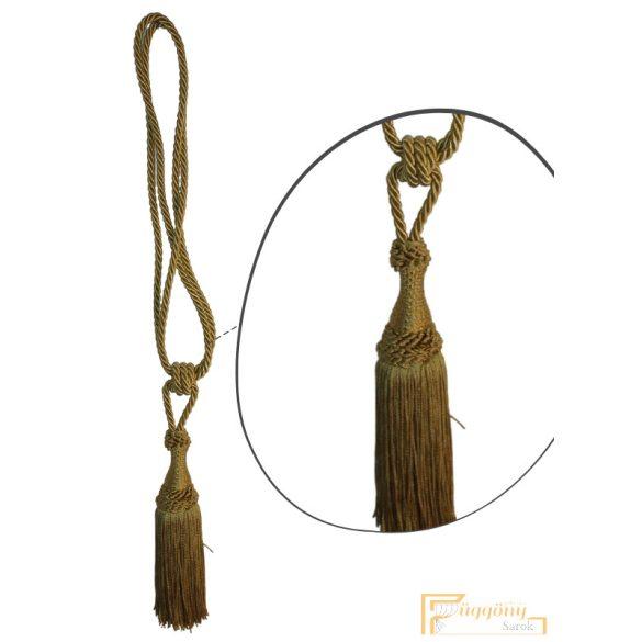 (14 szín) Arany Klasszikus zsinóros Egyfejes Függönyelkötő