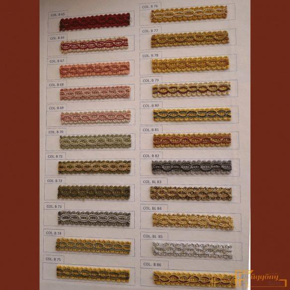 (87 szín) Díszítő bortni fazon 111