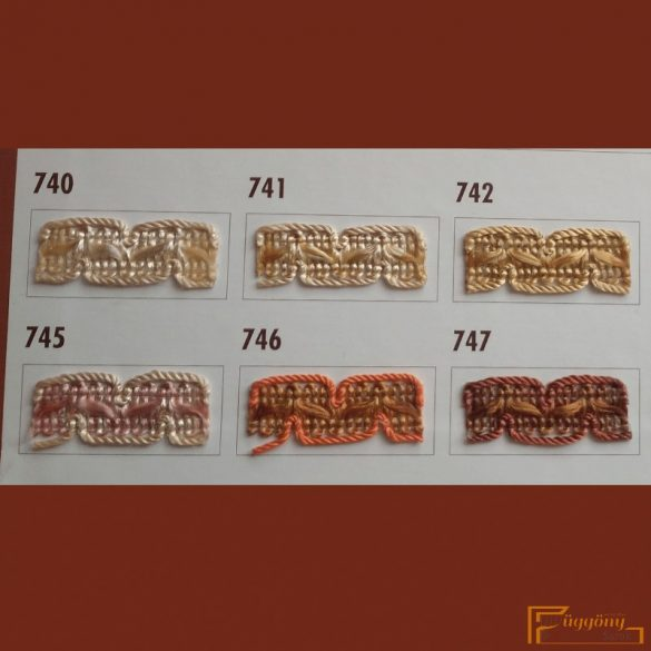 (10 szín) Díszítő bortni fazon 322