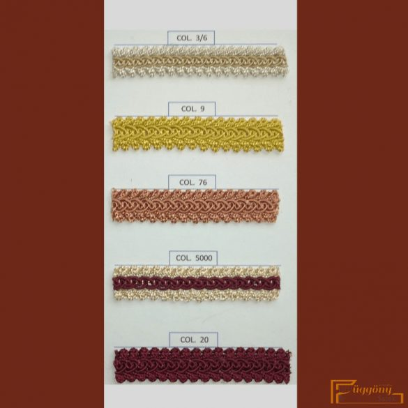 (14 szín) Bortni fazon 9188