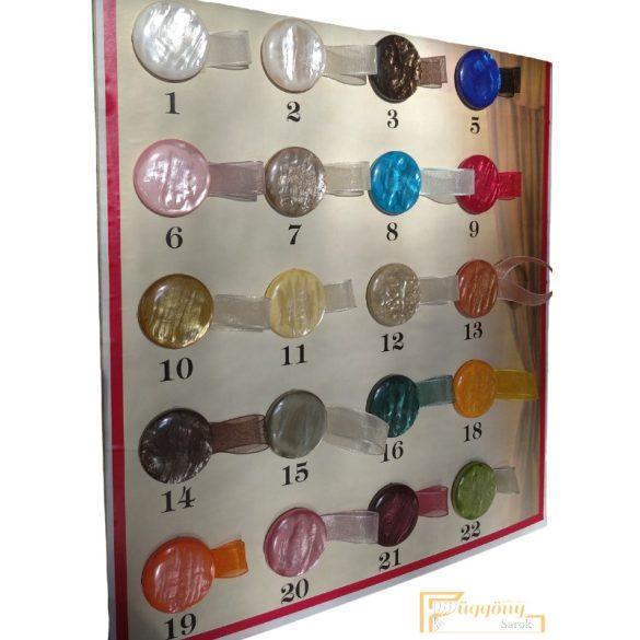(20 szín) Függöny mágnes - Párban rendelhető