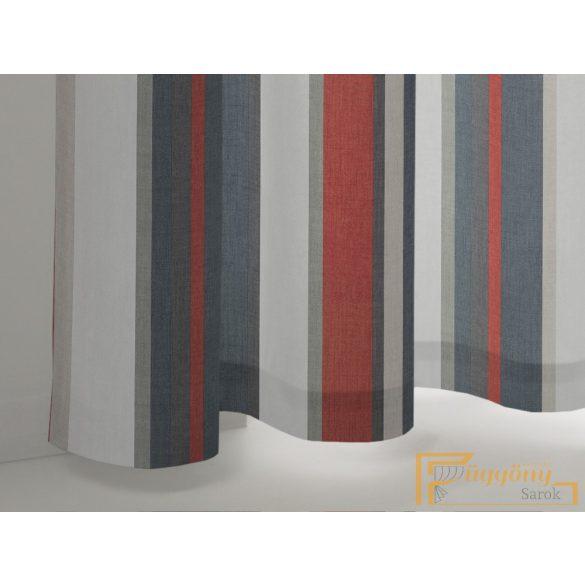 (4 szín) Piros Monterey nyomott dimout  R-függöny 150cm