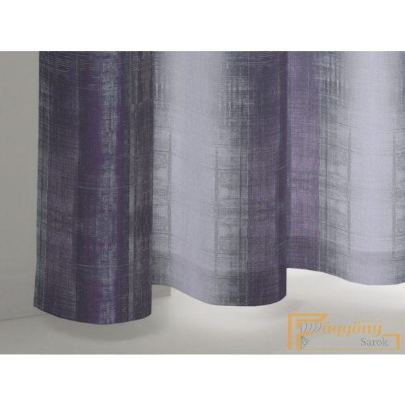 (2 szín) Lila Timeless nyomott stuktúr dimout R-függöny 150cm