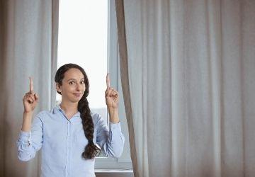 Függöny felrakás egyszerűen