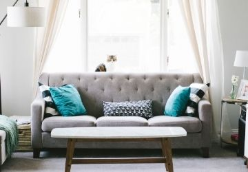 A nappali függöny – hogyan válassz
