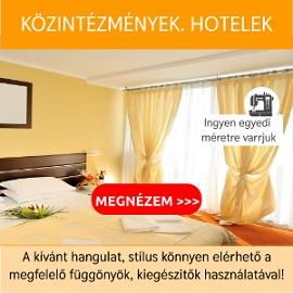 Közintézmények hotelek számár függönyök